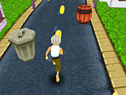 Play Grandpa Run 3D Online