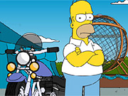 Play Simpsons Ball of Death Online