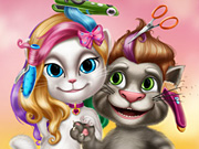 Play Tom and Angela Real Haircuts Online